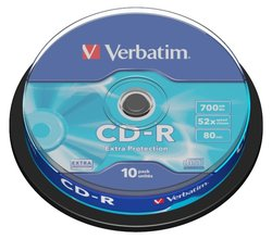 CD-R Verbatim 10ks na spindlu
