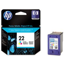Inkoustová cartridge HP C9352AE color HP PSC-1410, No. 22, originál