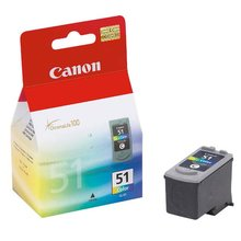 Inkoustová cartridge Canon CL-51 color CL51, 3 x 7 ml originál