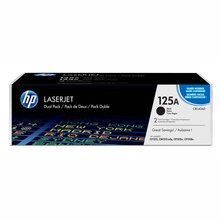 Toner HP CB540AD, Color LaserJet CP1215, 1515, 1518, 2-pack, black, originál