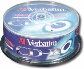 CD-R Verbatim 100ks na spindlu