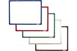 Magnetické tabule s barevným hliníkovým rámem