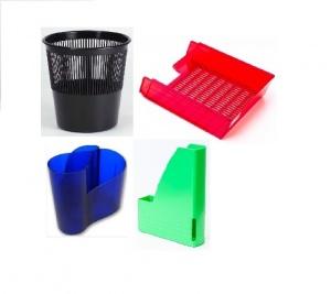 Plastové kancelářské potřeby