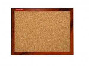 Korkové tabule s rámem MDF