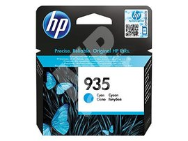 Inkoustová cartridge HP C2P20AE, Officejet 6812, 6815, 6230, cyan, No.935, originál