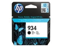 Inkoustová cartridge HP C2P19AE, Officejet 6812, 6815, 6230, black, No.934, originál