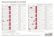 STOLNÍ KALENDÁŘ S71-21 Kalendář plánovací karta