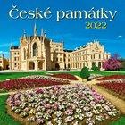 NÁSTĚNNÝ KALENDÁŘ GRASPO GN22-024 České památky-doprodej