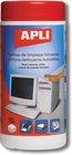 APLI ČISTÍCÍ KAPES.VLHKÉ TFT/LCD 100ks-DOZA, A11302