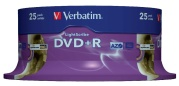 DVD+R Verbatim 25ks spindl