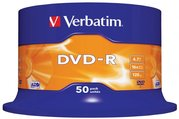 DVD-R Verbatim 50ks spindl