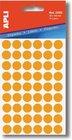 ETIK.APLI kul.13mm 175ks žlutá