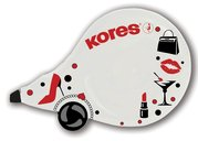 KORES ROLL-ON OPRAVNÝ STROJEK 4,2 x 8m Scooter Black&White(10),84972