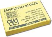 AURO SAMOLEPICÍ BLOČEK 50x75 žlutý (12/432)